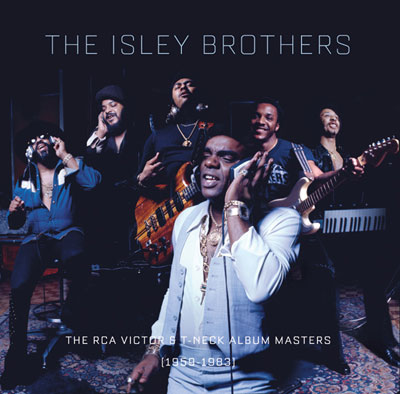 The Isley Brothers boxset cover